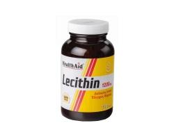 Health Aid LECITHIN με Λεκιθίνη, 1200 mg 100 κάψουλες