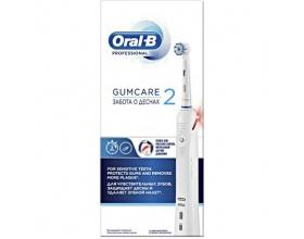 Oral-b Professional Gumcare 2 Επαναφορτιζόμενη Ηλεκτρική Οδοντόβουρτσα Για Ευαίσθητα Ούλα Με Αισθητήρα Πίεσης