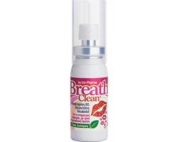 Uni-Pharma Breath Clean Για τη Στοματική Κακοσμία με Ήπια Αντιμικροβιακή Δράση και Γεύση Δυόσμου 20ml