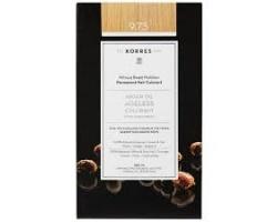 Korres Argan 9.73 Χρυσό Καστανό Μόνιμη Βαφή Μαλλιών, 50ml