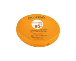 Bioderma Photoderm Max Compact Teinte Claire SPF50+ Αντιλιακό σε μορφή πούδρας Ανοιχτή Απόχρωση, 10gr