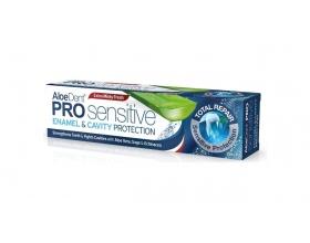 Optima AloeDent Pro Sensitive Enamel & Cavity Protection Οδοντόκρεμα που βοηθά στην προστασία του σμάλτου και Συμβάλλει ενάντια στην Υπερευαισθησία 75ml