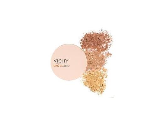 Vichy Mineralblend Healthy Glow Tri-color Πούδρα για Λάμψη Σκούρα Απόχρωση(TAN), 9g