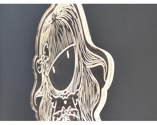 """Φωτιστικό Led """"Gorjuss doll"""" 13cm x 27cm"""