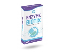 Quest Enzymebiotix Συμπλήρωμα Διατροφής με 6 Πεπτικά Ένζυμα & Προβιοτικά, 30caps