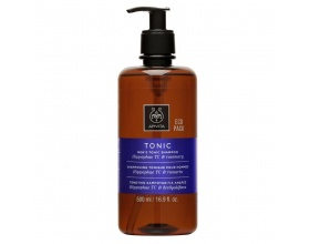 Apivita ECO PACK Tonic Shampoo Τονωτικό Σαμπουάν κατά της Τριχόπτωσης για Άνδρες με Hippophae TC & Δενδρολίβανο 500ml