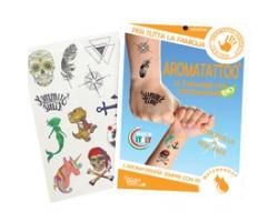 GISA AromaTatoo Bio Αντικουνουπικά Τατουάζ με σιτρονέλλα και γεράνι  12 τμχ.