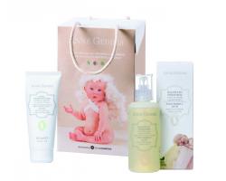 Anne Geddes Baby Bubble Bath Βρεφικό Αφρόλουτρο 250ml & Bio Protective Cream Προστατευτική Κρέμα Αλλαγής Πάνας 100ml.