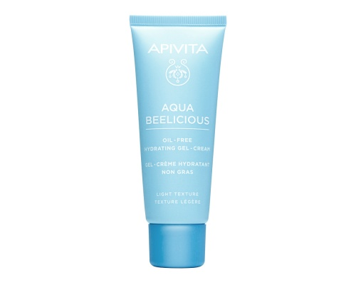Apivita Aqua Beelicious Light Gel-Cream Oil-Free Κρέμα Gel Ενυδάτωσης Ελαφριάς Υφής με  Λουλούδια και Μέλι, 40ml
