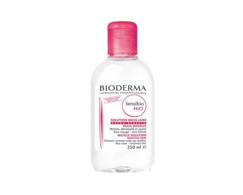 Bioderma Sensibio H2O Διάλυμα Καθαρισμού προσώπου και ματιών, 250ml