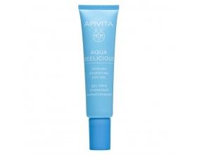 Apivita Aqua Beelicious Δροσιστικό Gel Ενυδάτωσης για τα Μάτια με Λουλούδια και Μέλι, 15ml
