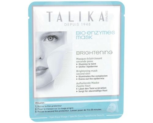 TALIKA Bio Enzymes Mask Brightening Μάσκα Προσώπου Λάμψης & Ενυδάτωσης, 20gr