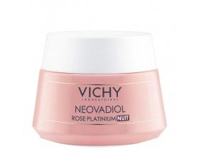 Vichy Neovadiol Rose Platinum Night Κρέμα Νύχτας για ώριμες και θαμπές επιδερμίδες 50ml