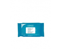 Uriage Thermal Micellar Water Make-Up Remover Wipes, Μαντηλάκια Καθαρισμού Ντεμακιγιάζ 25τμχ