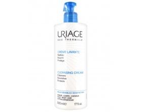 Uriage Creme Lavante, Κρέμα Καθαρισμού για Πρόσωπο/Σώμα/Μαλλιά 500ml