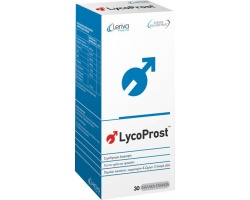 Leriva Lycoprost Συμπλήρωμα διατροφής με ειδική σύνθεση για την αντιμετώπιση των προβλημάτων του ουροποιητικού συστήματος και την υποστήριξη των υγειών κυττάρων του προστάτη 30 μαλακές κάψουλες