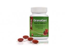 Leriva Granalix GranaGard Συμπλήρωμα διατροφής πλούσιο σε Ωμέγα 5, με έλαιο από τους σπόρους του ροδιού 60 μαλακές κάψουλες