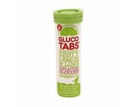 Glucotabs Zesty Lemon & Lime Ταμπλέτες Γλυκόζης με γεύση λεμόνι, 10 tabs
