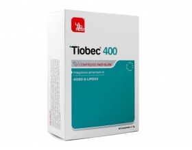 Tiobec 400 Συμπλήρωμα Διατροφής για το οξειδωτικό στρες & το νευρικό σύστημα, 40 δισκία