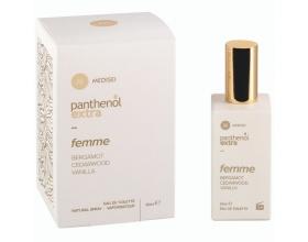 Medisei Panthenol Extra Femme Eau De Toilette Bergamot, Cedarwood, Vanilla Γυναικείο Άρωμα 50ml