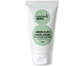 Medisei Panthenol Extra Green Clay Facial Mask Μάσκα για Βαθύ Καθαρισμό με Πράσινη Άργιλo 75ml