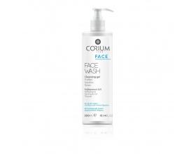 Corium Face Wash Cleansing Gel Ήπιο ζελ καθαρισμού για όλους τους τύπους επιδερμίδας, καθώς και για το ερεθισμένο δέρμα από φαρμακευτική αγωγή 300ml