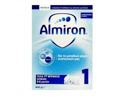 NUTRICIA Almiron 1, Γάλα 1ης Βρεφικής Ηλικίας για Βρέφη από 0-6 Μηνών, 600gr