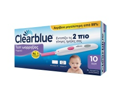 Clearblue Ψηφιακό Τεστ Ωορρηξίας, 10τμχ