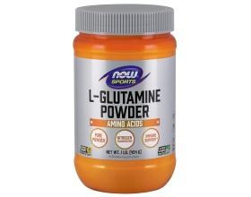 Now Foods L- Glutamine Powder, Free-Form (Vegetarian), Καθαρή Σκόνη Γλουταμίνης, Ρυθμιστής του Αζώτου, για την Επούλωση Εντέρου & καλύτερες Εγκεφαλικές Λειτουργίες 454 gr