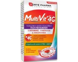 FORTE PHARMA MultiVit 4G Πολυβιταμίνη ειδικά σχεδιασμένη για την κάλυψη των καθημερινών αναγκών 30 δισκία