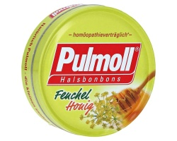 Pulmoll Καραμέλες με μέλι και μάραθο, 75gr