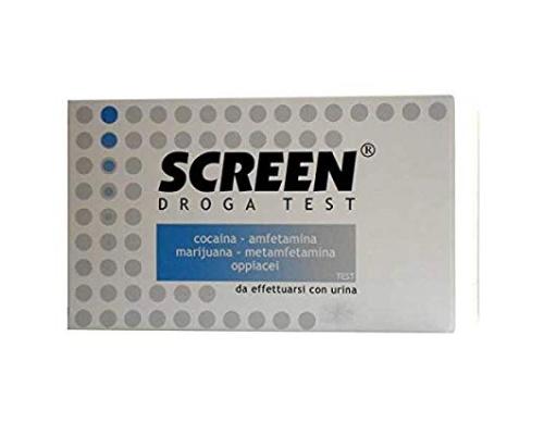 Screen Droga Test Έλεγχος Τοξικών Ουσιών για 5 ουσίες, 1τμχ