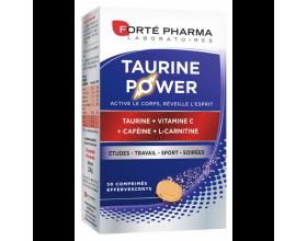 Forte Pharma ENERGIE TAURINE POWER Συμπλήρωμα διατροφής με Δυναμωτική Δράση για Σώμα και Μυαλό, 30eff.tabs