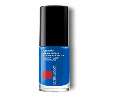 La Roche Posay Toleriane Silicium Nail Polish Dark Blue Βερνίκι νυχιών που προστατεύει και ενισχύει από UVA και UVB ακτινοβολίες 6ml