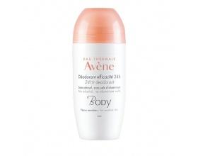Avene Body Deodorant Efficacite 24h Αποσμητικό για 24ωρη Αποτελεσματικότητα, 50ml