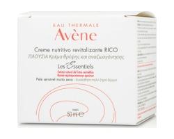 Avene Les Essentiels Creme Nutritive Revitalisante Riche Πλούσια Κρέμα Θρέψης & Αναζωογόνησης, για πολύ ξηρό δέρμα 50ml