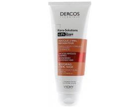 Vichy DERCOS Kera Solutions 4.0% Keratin Masque Μάσκα Μαλλιών για ταλαιπωρημένες άκρες γέμισμα με υαλουρονικό οξύ & βιταμίνη Β5 200ml