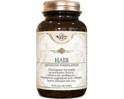 Sky Premium Life Hair Συμπλήρωμα για τα Μαλλιά που συνδυάζει κολλαγόνο τύπου II, Βιταμίνη C, Βιοτίνη, Χαλκό, Σελήνιο και Ψευδάργυρο 60 δισκία