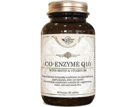 Sky Premium Life Co Enzyme Q10 with Biotin & Vitamin B6 Συμπλήρωμα διατροφής υψηλής ποιότητας που περιέχει το Συνένζυμο CoQ10, βιταμίνη Β6 και Βιοτίνη  60 ταμπλέτες