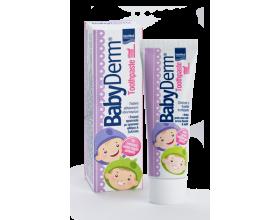 Intermed Babyderm Toothpaste 1000 ppm Φθοριούχος οδοντόκρεμα για την φροντίδα των παιδικών δοντιών 50ml