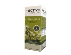 Ambitas F Ective Herbal Line Herbal Syrup Ενηλίκων Χωρίς Ζάχαρη 150ml