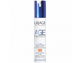 Uriage Age Protect Fluide Multi-Actions SPF30 Αντιγηραντική Λεπτόρρευστη Κρέμα Ημέρας,Για μικτές προς λιπαρές επιδερμίδες  40ml