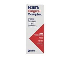 Kin Gingival Complex Mouthwash Στοματικό Διάλυμα για Eυαίσθητα Oύλα με Xλωρεξιδίνη 0,12% 250ml