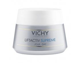 Vichy LIFTACTIV SUPREME, Αντιρυτιδική & Συσφικτική κρέμα προσώπου με αποτέλεσμα Lifting που διαρκεί. Κατάλληλη για ξηρή / πολύ ξηρή & ευαίσθητη επιδερμίδα, 50ml