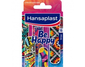 Hansaplast Limited Edition Be Happy Strips, 16Τμχ