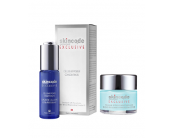 Skincode Anti-Aging Moisture Duo Exclusive Cellular Exreme Mask μάσκα άμεσης δράσης 50ml + Exclusive Cellular Power Concentrate ισχυρός ενυδατικός ορός προσώπου 30ml
