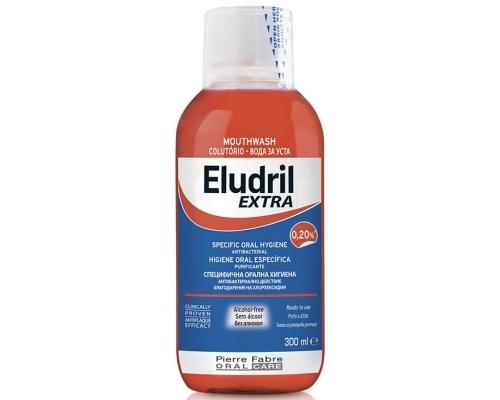 Elgydium Eludril Extra Στοματικό διάλυμα 0,20% 300ml
