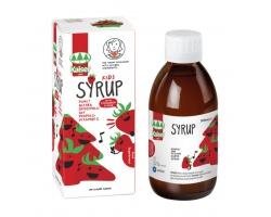 kaiser Kids Syrup Παιδικό Σιρόπι για το Λαιμό Με Γεύση Φράουλα, 200ml