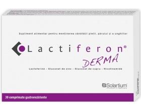 Lactiferon Derma Εξειδικευμένο συμπλήρωμα διατροφής για την αντιμετώπιση της ακμής, 30 Γαστροανθεκτικά Δισκία