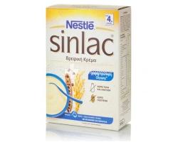 Nestle Sinlac, Βρεφική κρέμα για την υποστήριξη της φυσικής άμυνας του οργανισμού του μωρού σας από 4 μηνών 500g